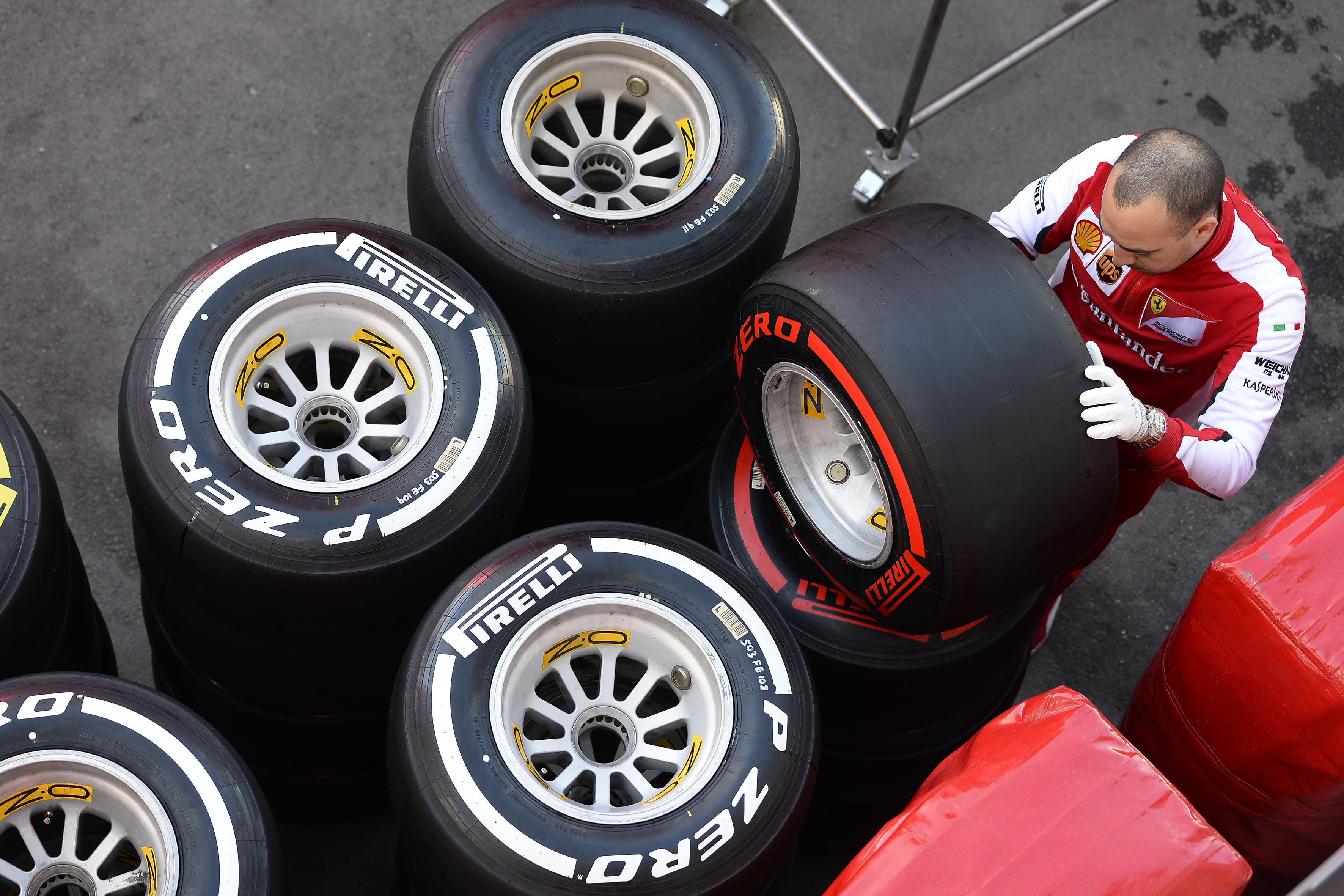 Pirelli: le mescole per i prossimi quattro GP