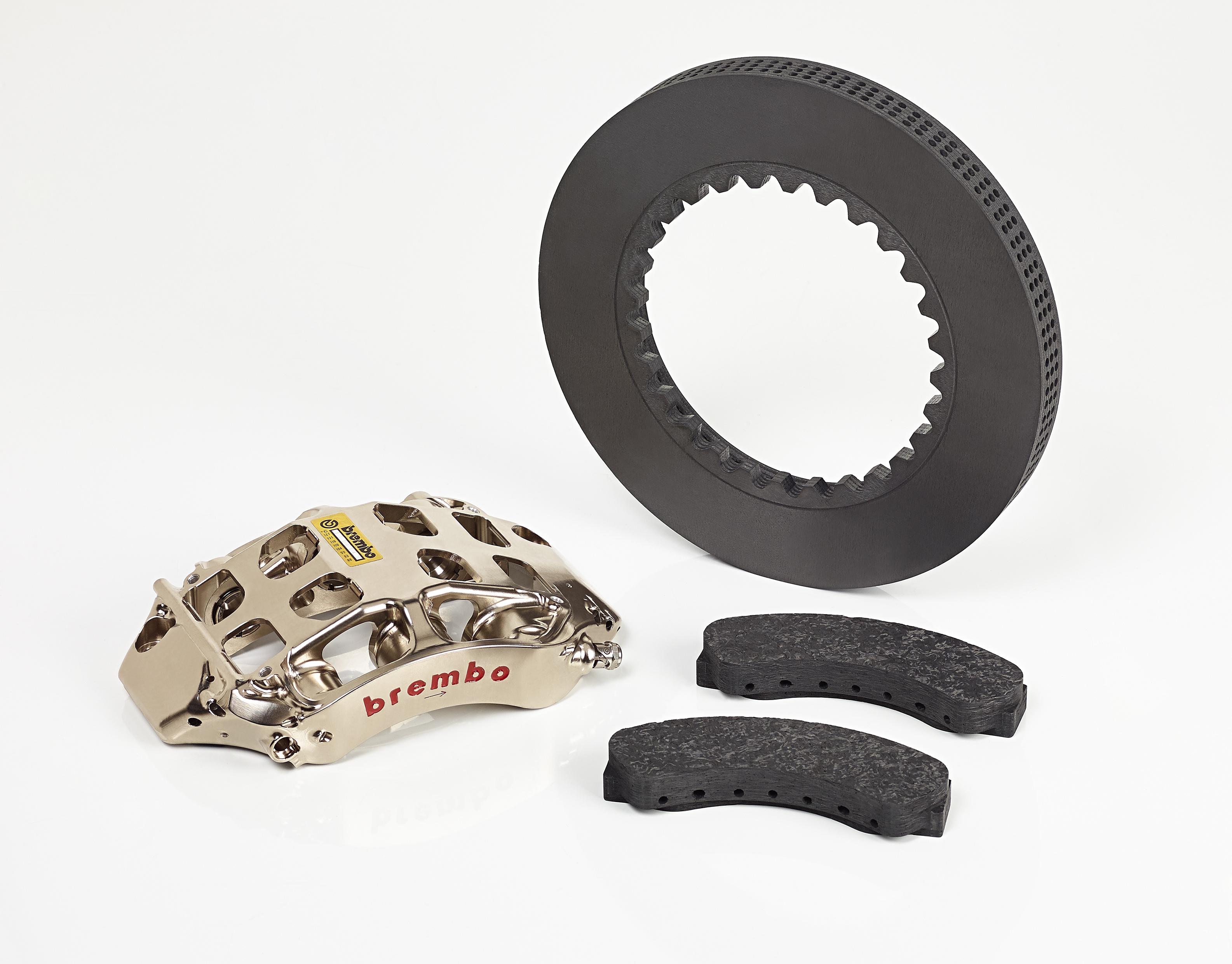 BREMBO F1 brake system components