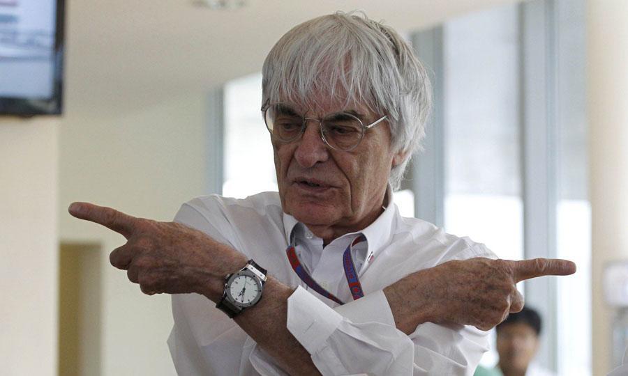 """Ecclestone: """"Mercedes troppo avanti, per tutti"""""""