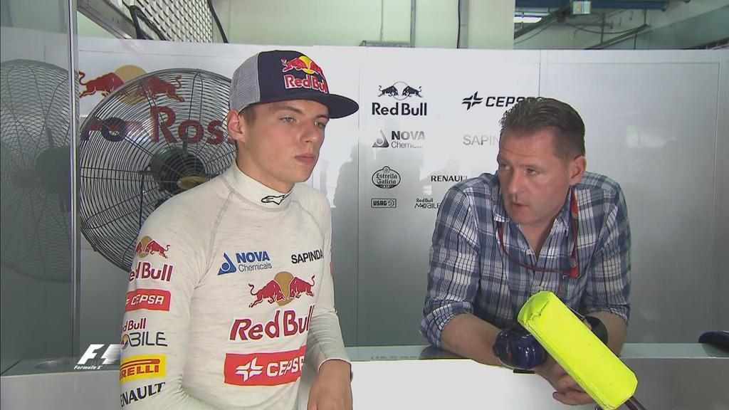 Jos smorza le voci su Max e Ferrari