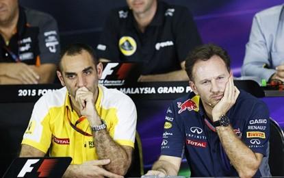 Red Bull-Renault: guerra fredda