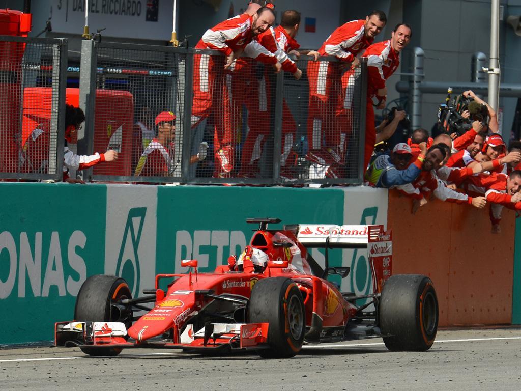 Malesia: Vettel/Ferrari, dopo 676 giorni!