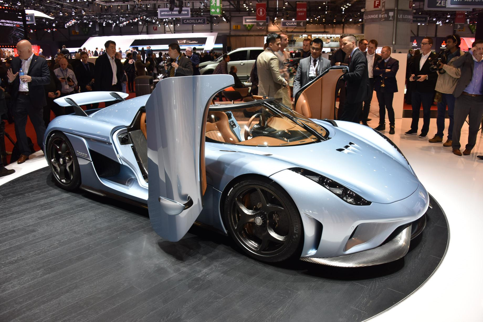 Supercar: la top 5 a Ginevra