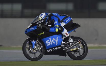 Qatar: prova generale per lo Sky Racing Team