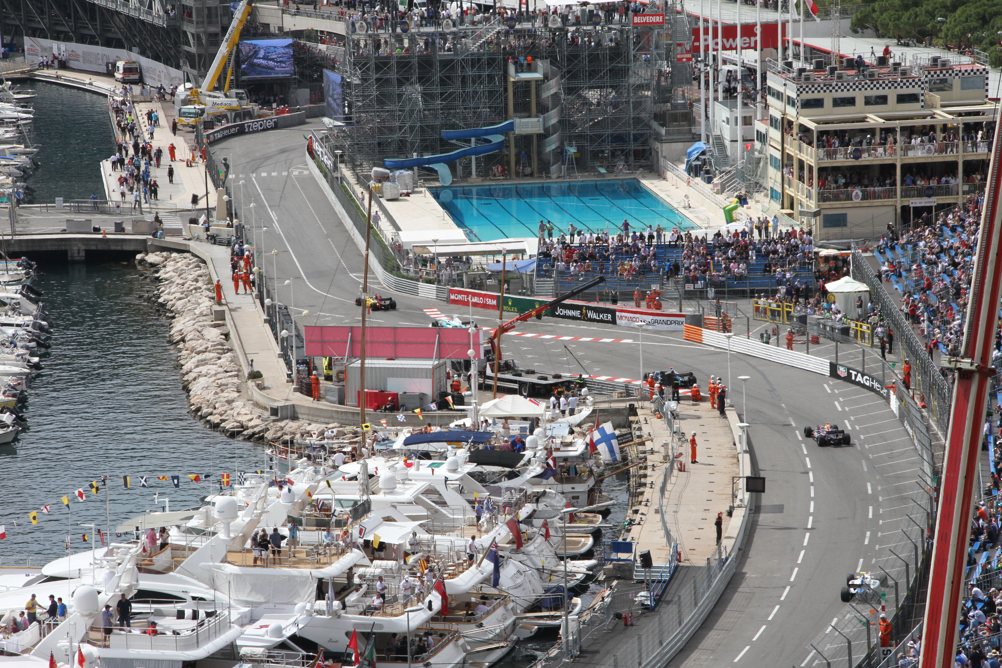 Monaco 2015 da VIP da terrazze e yacht