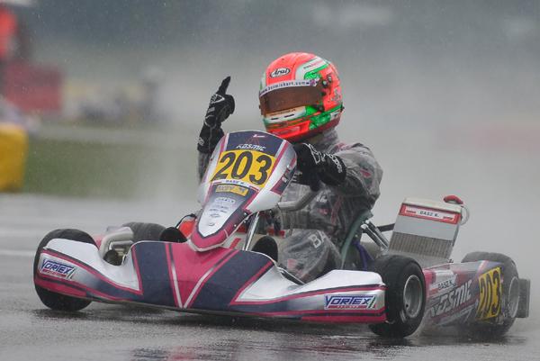 WSK: Basz vince anche a Castelletto