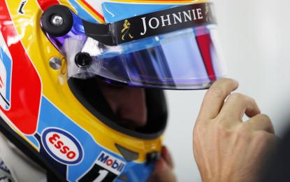 Alonso sempre al centro della scena…