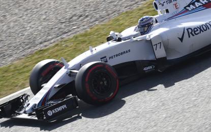 Test F1: chiusura in bellezza per Bottas