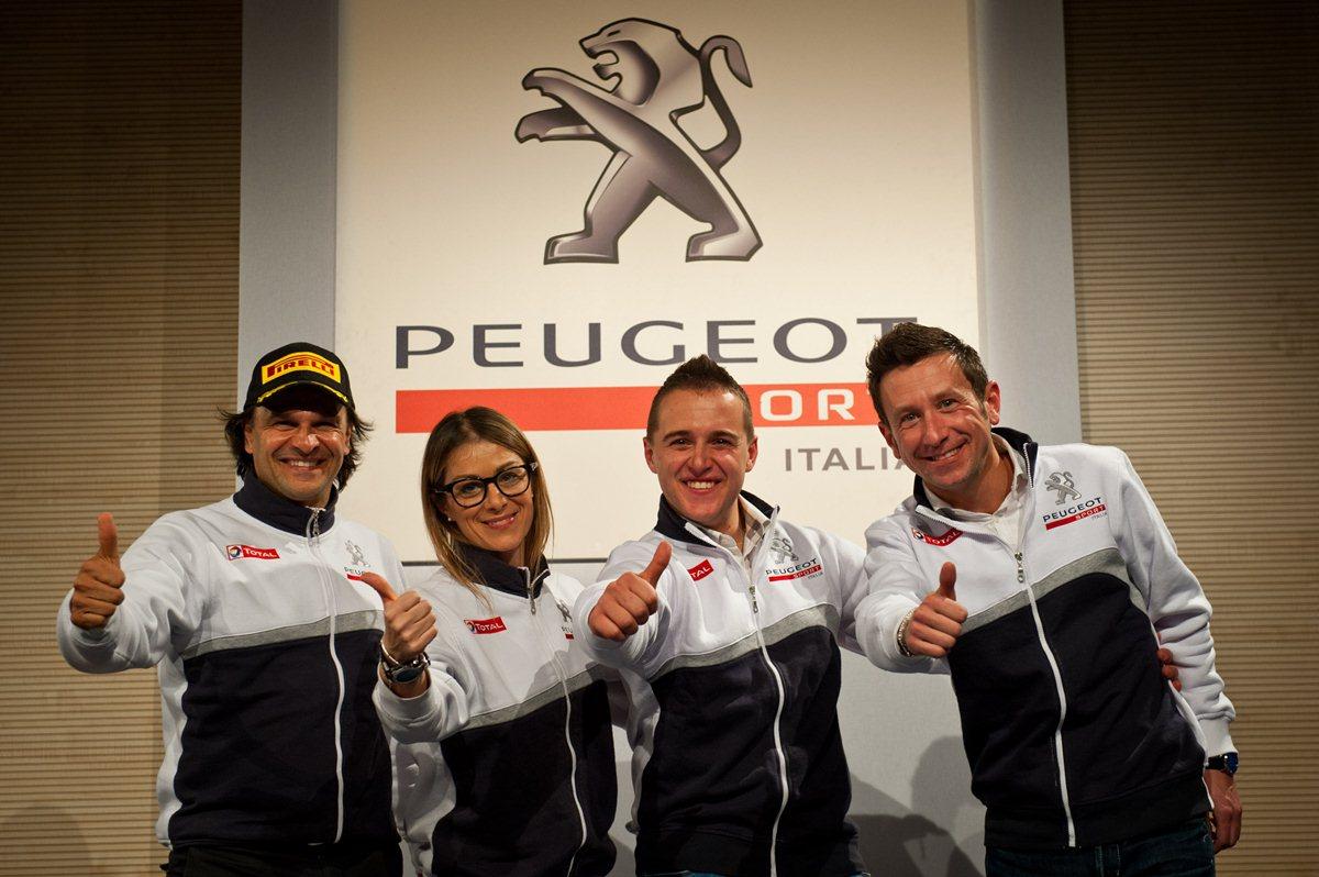 Peugeot Sport Italia pronta per la prova del 9!