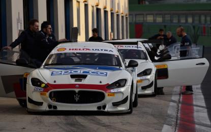 Trofeo Maserati: primi test e Racing Academy a Vallelunga