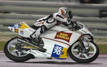 Moto3: prosegue il lavoro del San Carlo Team Italia