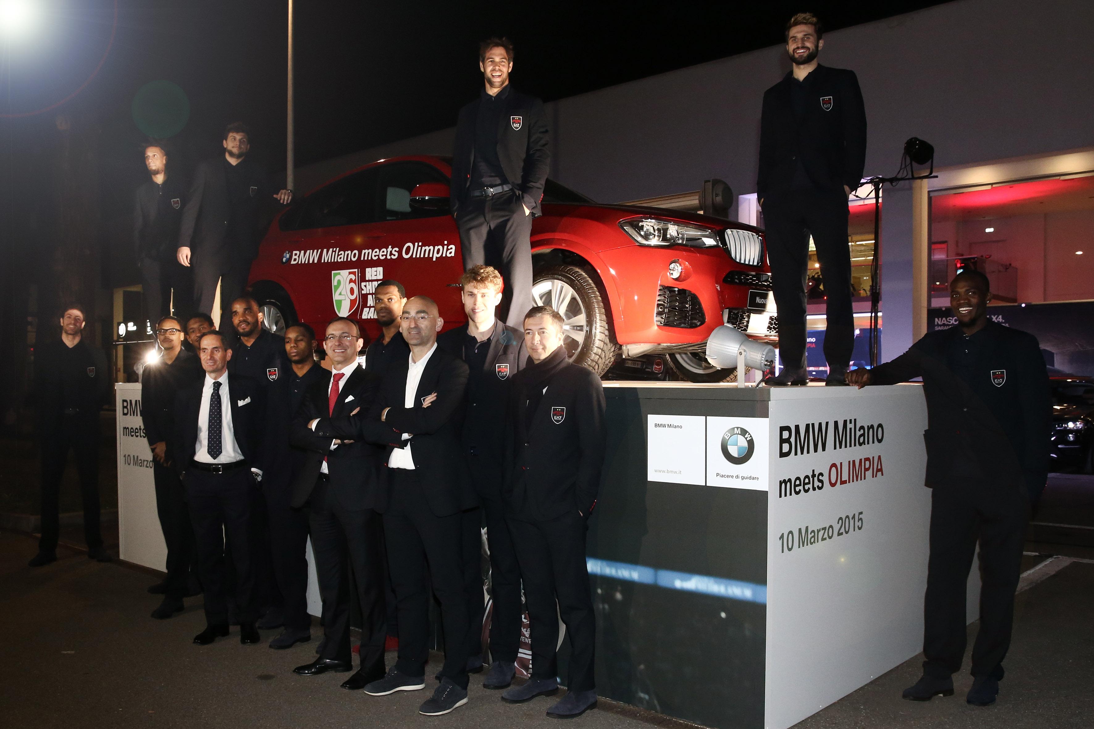 BMW Milano meets EA7 Olimpia Milano