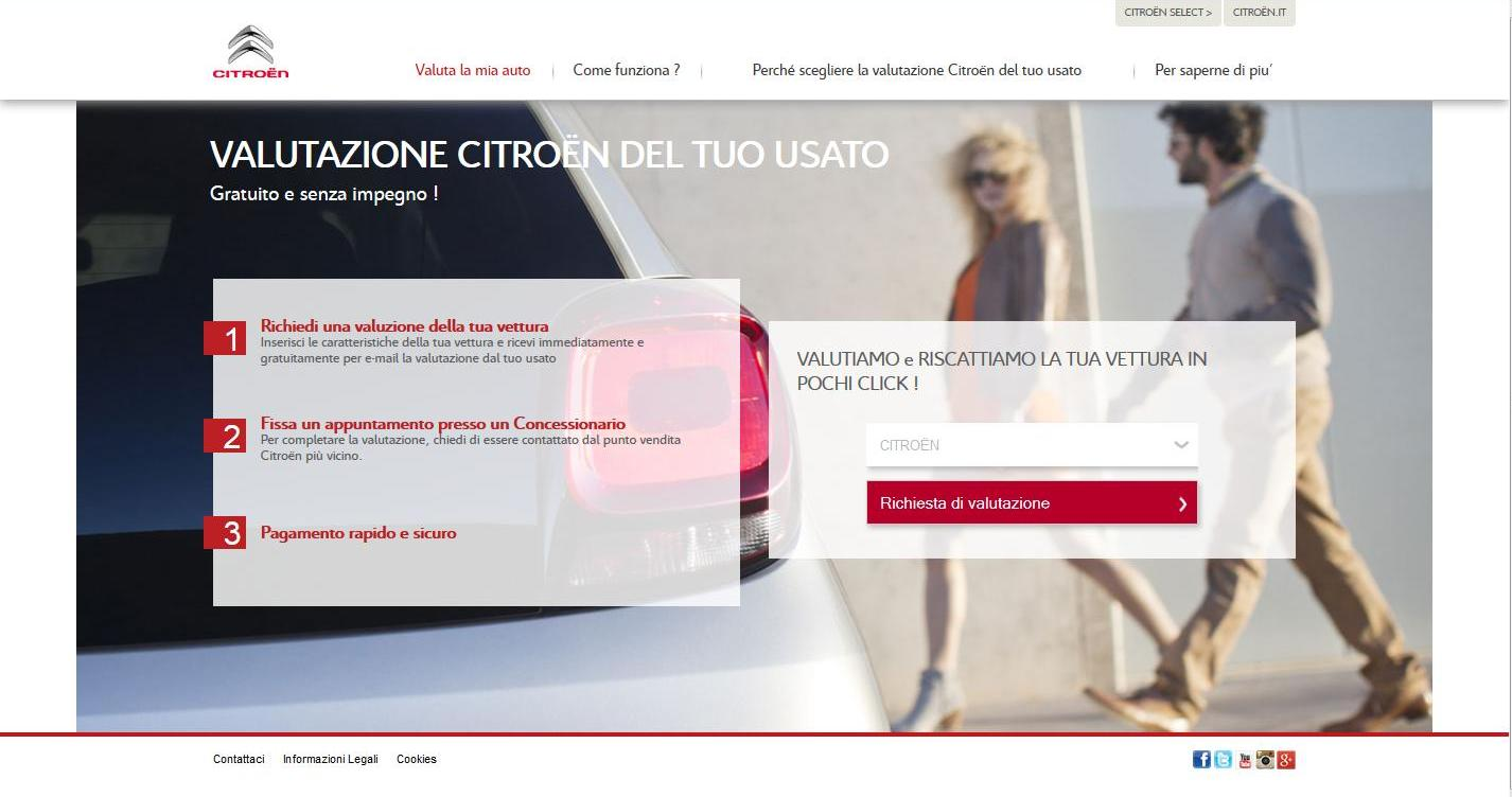 Citroën: valutazione usato online