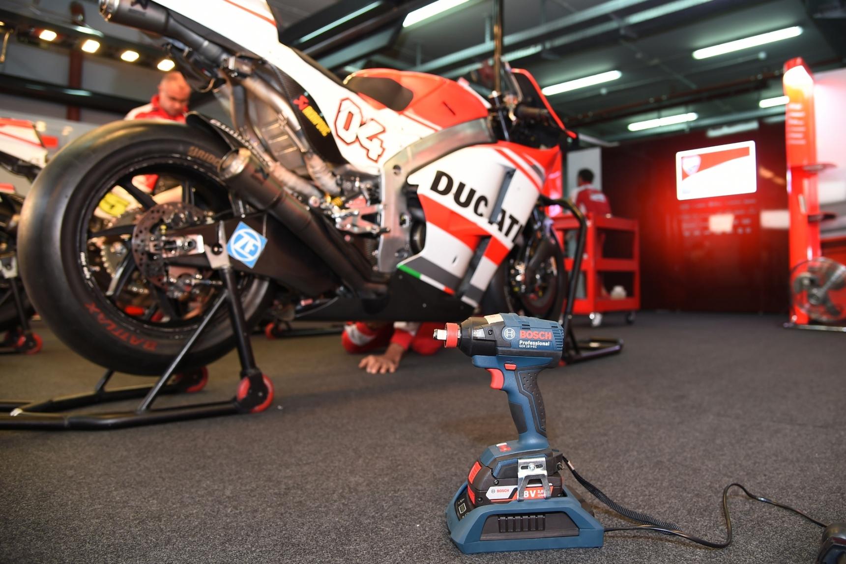 Bosch Wireless Charging System per Ducati