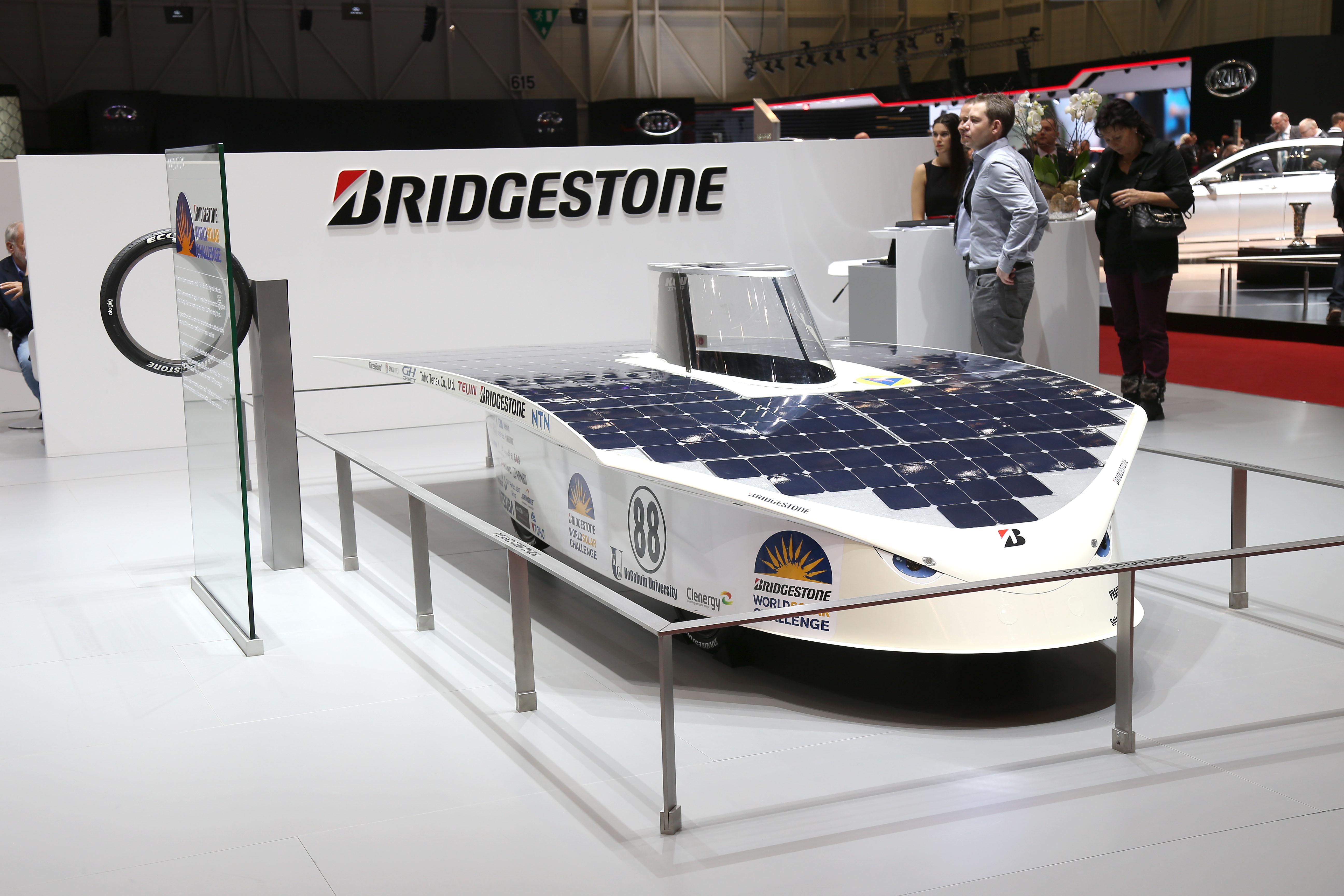 Bridgestone sponsor World Solar Challenge