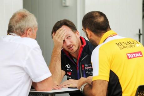 La Renault accusa la Red Bull di mentire