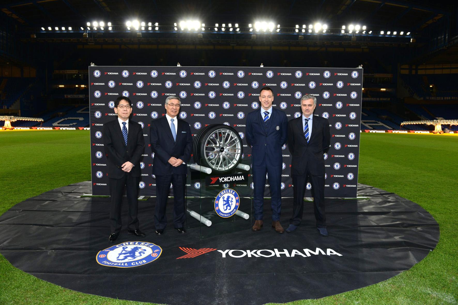 Yokohama nuovo sponsor Chelsea FC