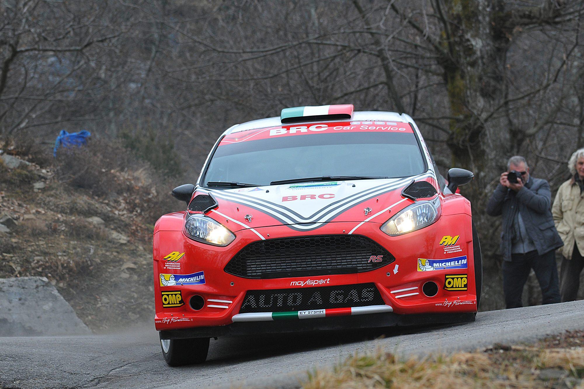 BRC leader al Rally del Ciocco