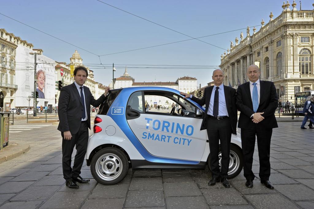 Ciao Torino: car2go nel capoluogo piemontese
