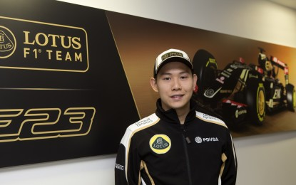 Lotus F1: Fong (?!?) development driver