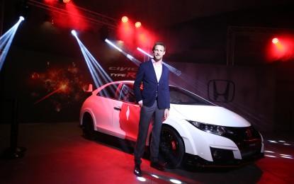 Honda: anteprima con Jenson Button