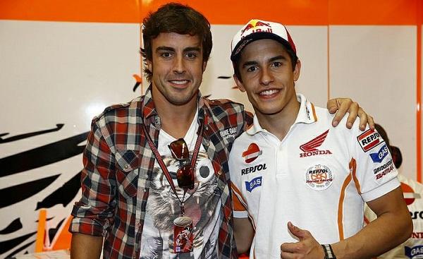 Marquez crede nella Honda F1. E parla di Fernando…