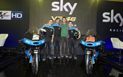 Ecco lo Sky Racing Team VR46 2015