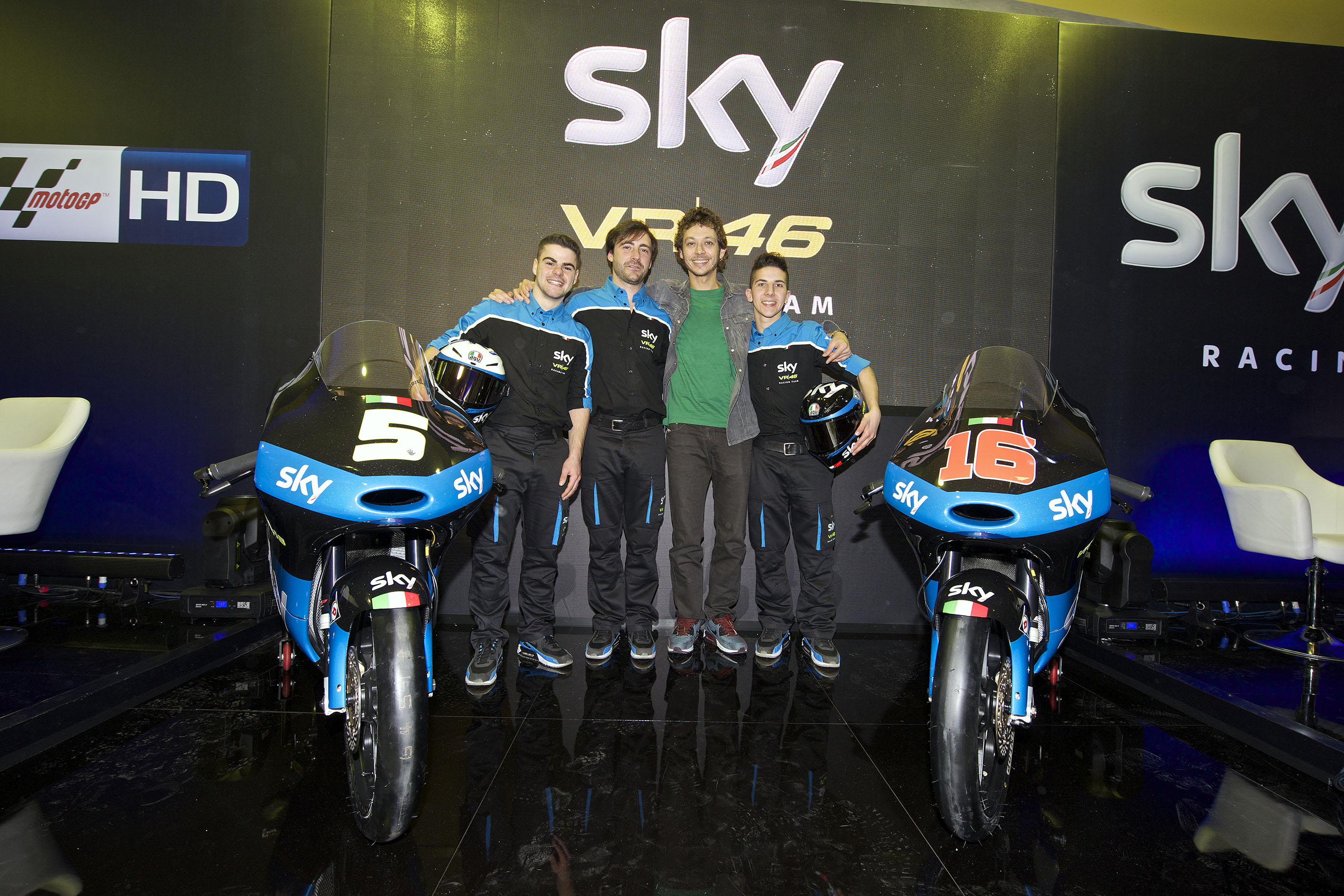 Ecco lo Sky Racing Team VR46 2015