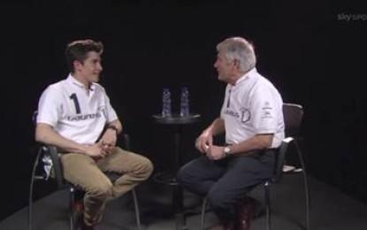 Agostini intervista Marquez