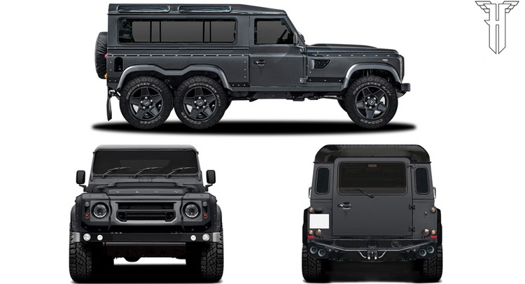 Flying Huntsman 110 WB 6×6 Concept