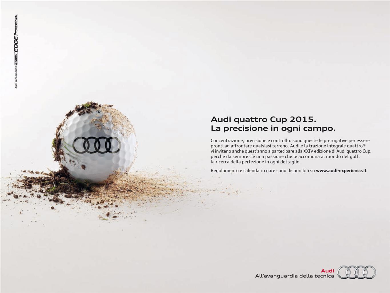 Al via l'Audi quattro Cup 2015
