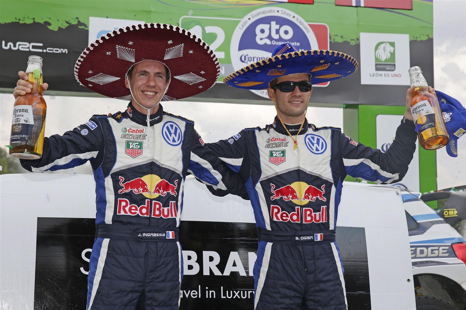 Ogier e la Polo R WRC vincono anche in Messico