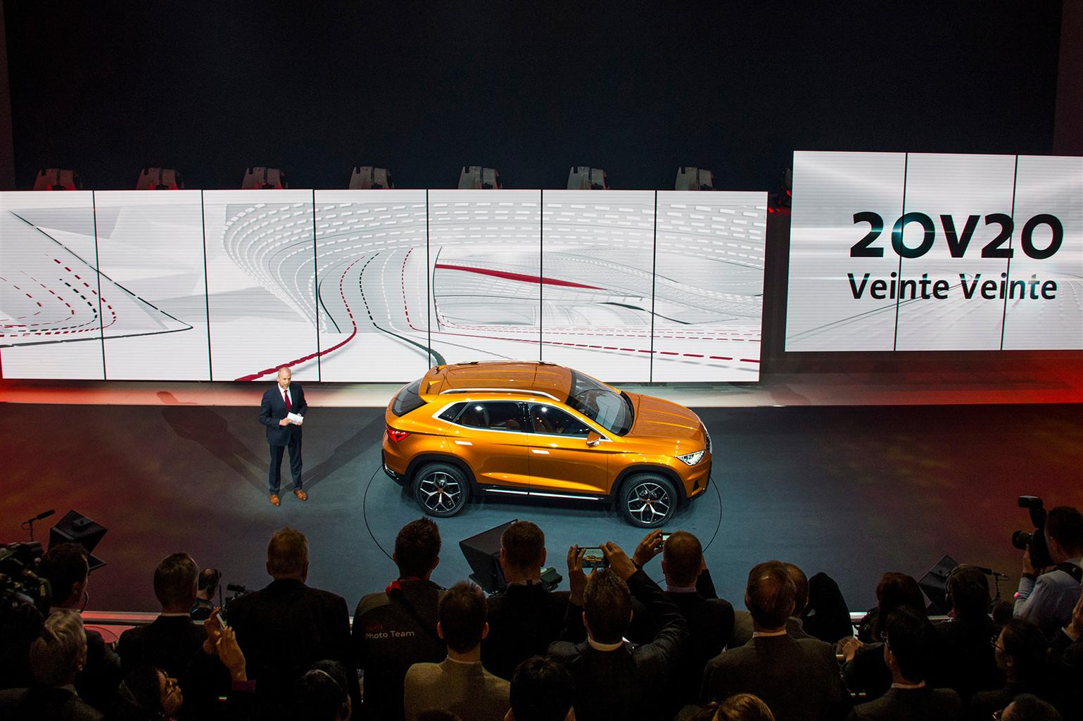 SEAT 20V20: il SUV del futuro