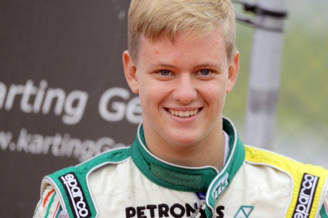 Mick Schumacher starts F4 career with a crash