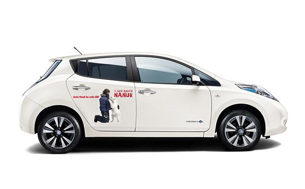 """Nissan LEAF è """"Amica di Nanuk"""""""