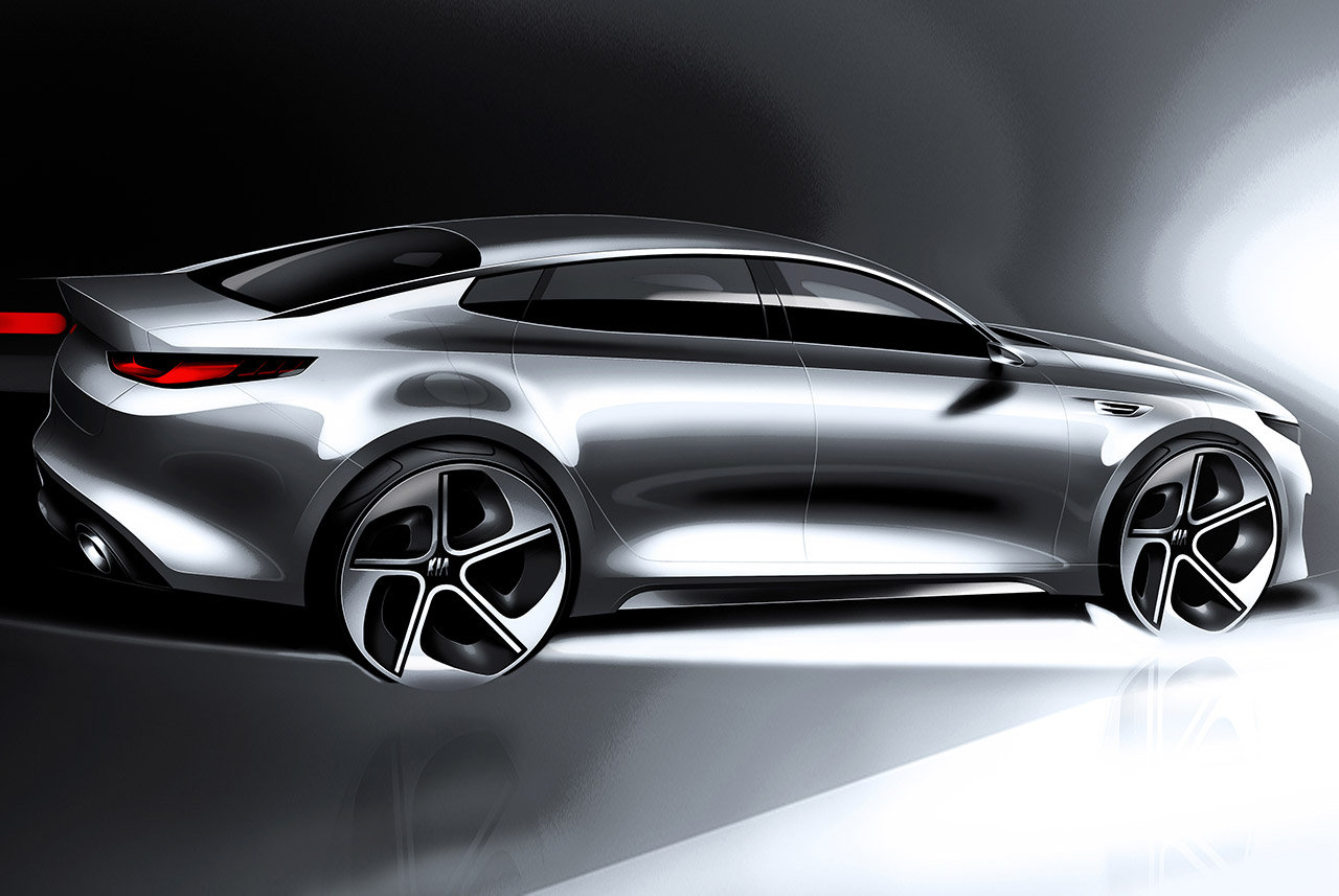 KIA Optima: a New York la next generation