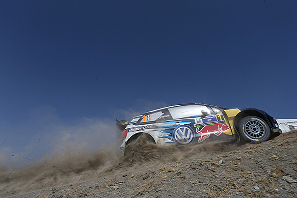 WRC: Ogier e VW dominano in Messico