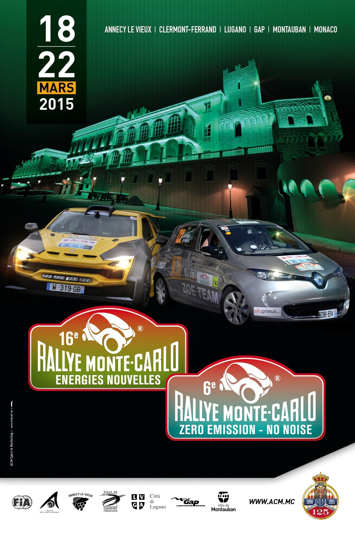 ZOE al Rally Montecarlo ZENN 2015