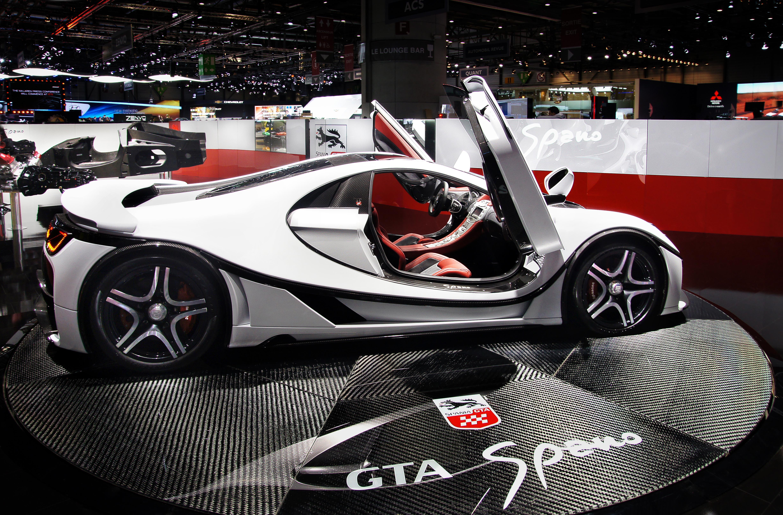 La nuova GTA Spano splende a Ginevra