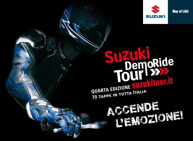 DemoRide Tour: il weekend di Suzuki