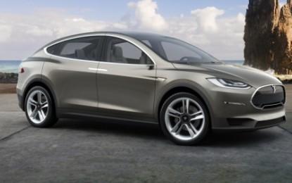 """Tesla Model X 2015 """"spy"""" in video"""