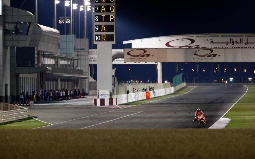 MotoGP: il Qatar inizia oggi alle 15.00