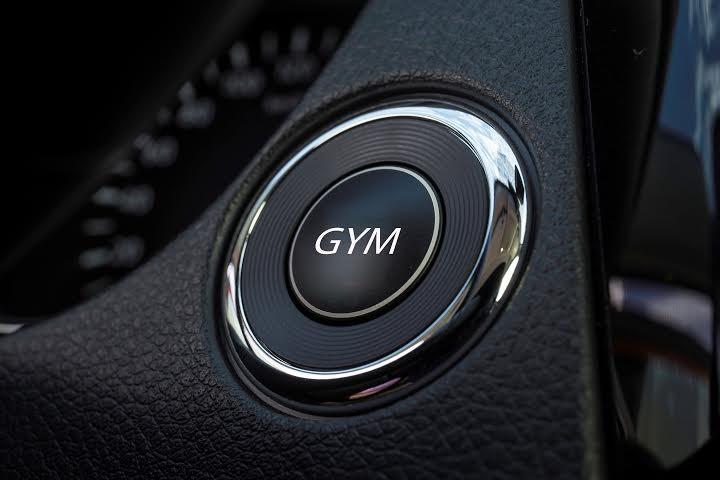 Nissan GYM: una palestra al volante