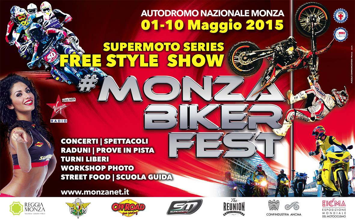 Monza Biker Fest in avvicinamento!