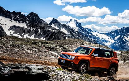 """Jeep Renegade """"4×4 dell'Anno"""""""