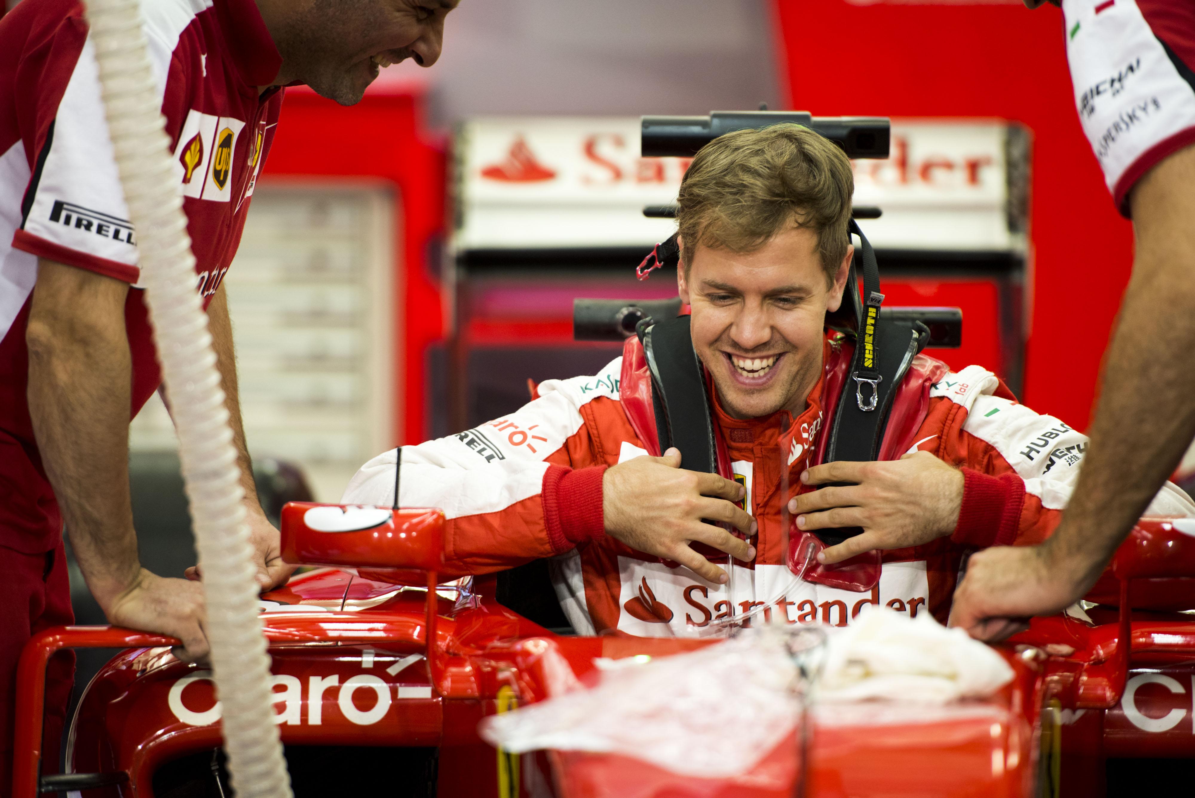"""Vettel: """"Finora soddisfatti, ma dobbiamo confermarci"""""""