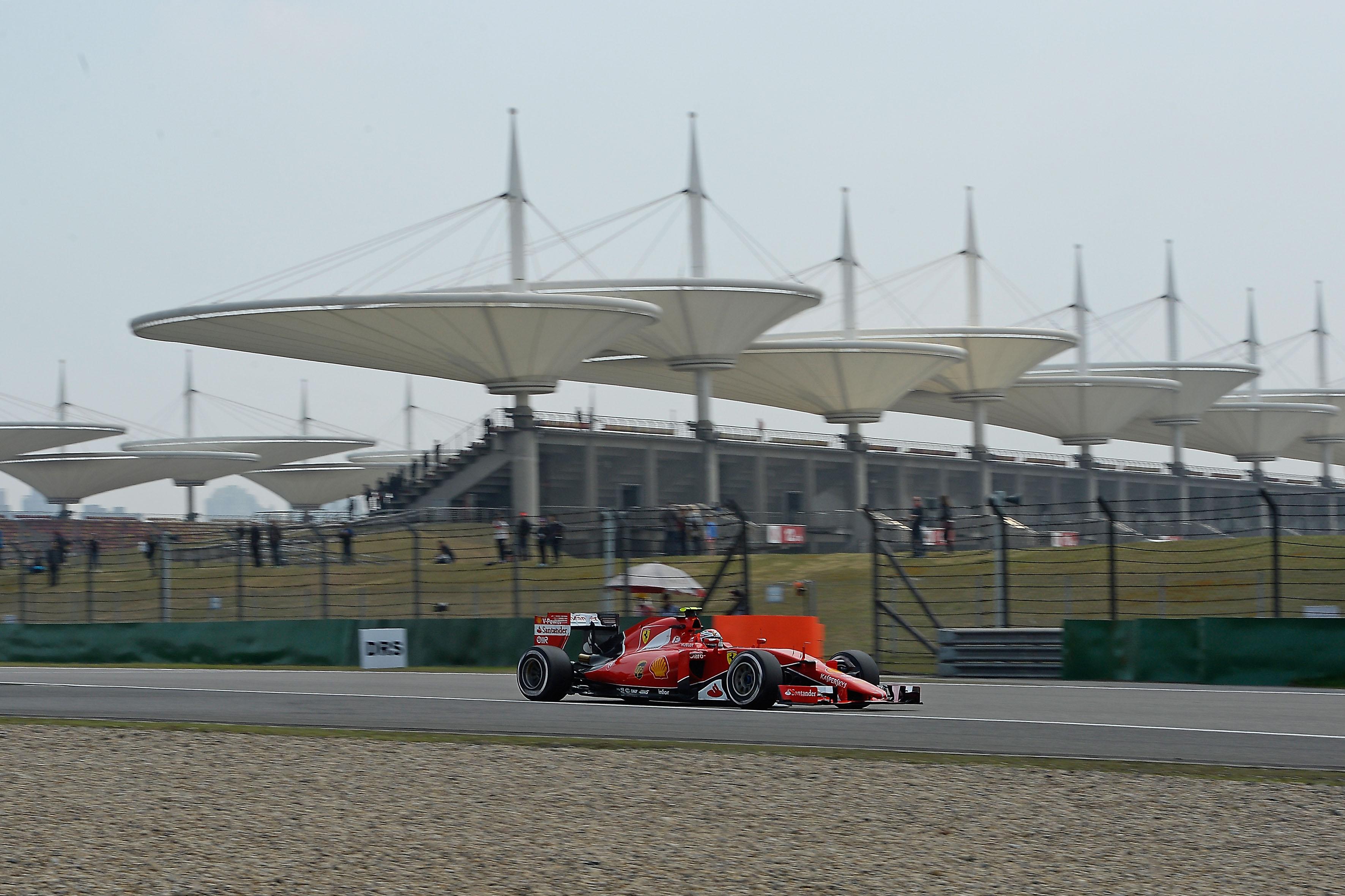 Cina: il punto della Ferrari sulle libere