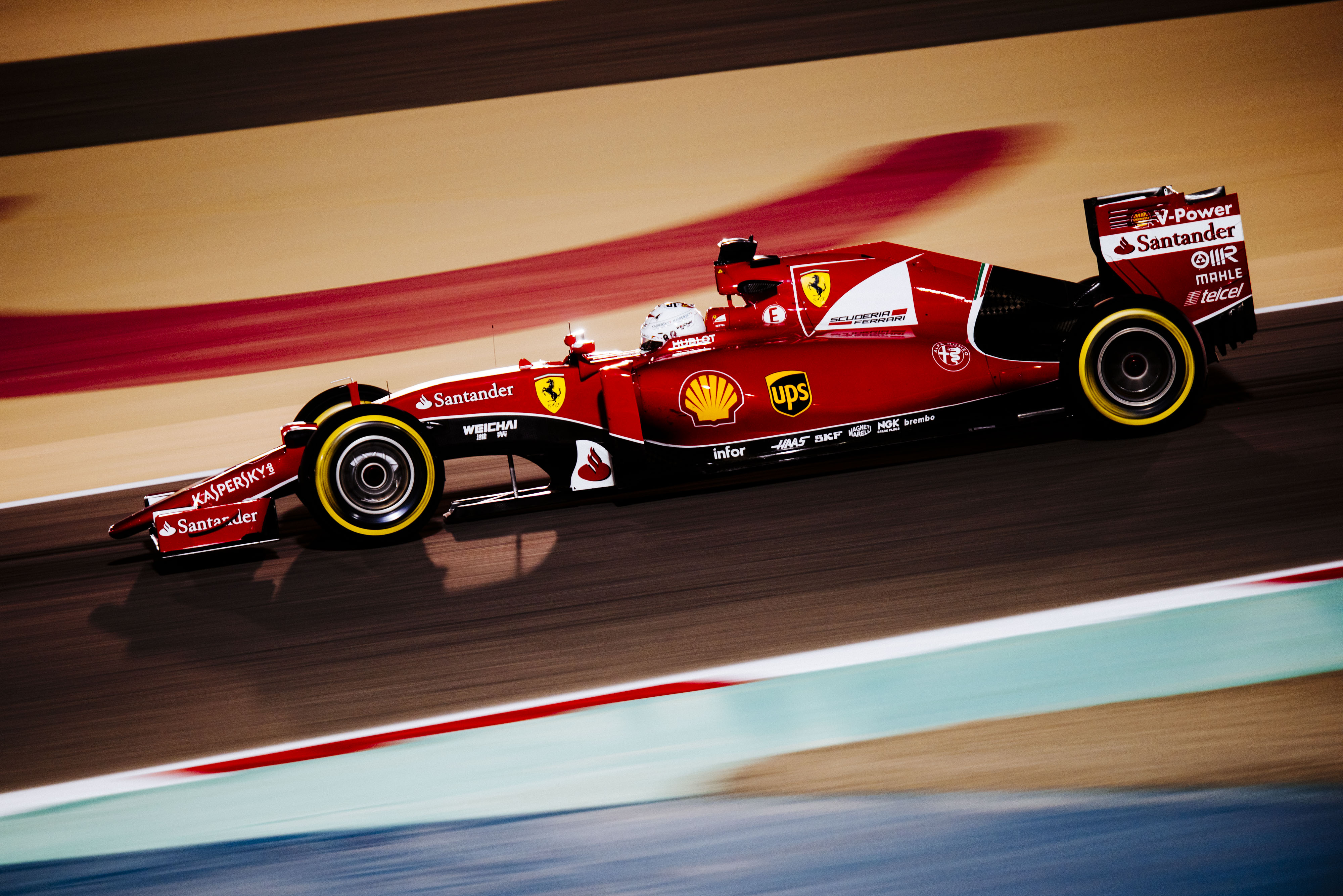 Bahrain: Ferrari in prima e seconda fila