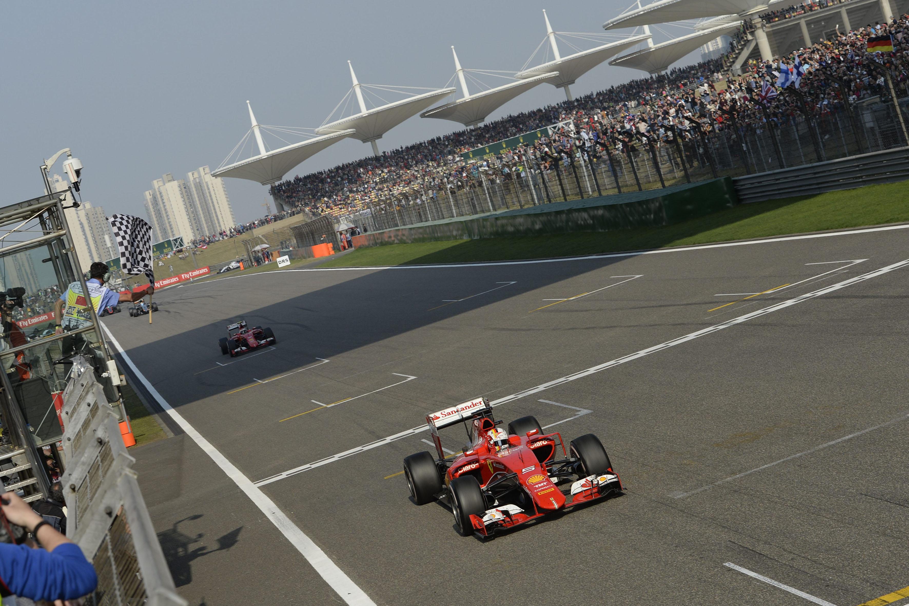 Cina: il punto della Ferrari sulla gara