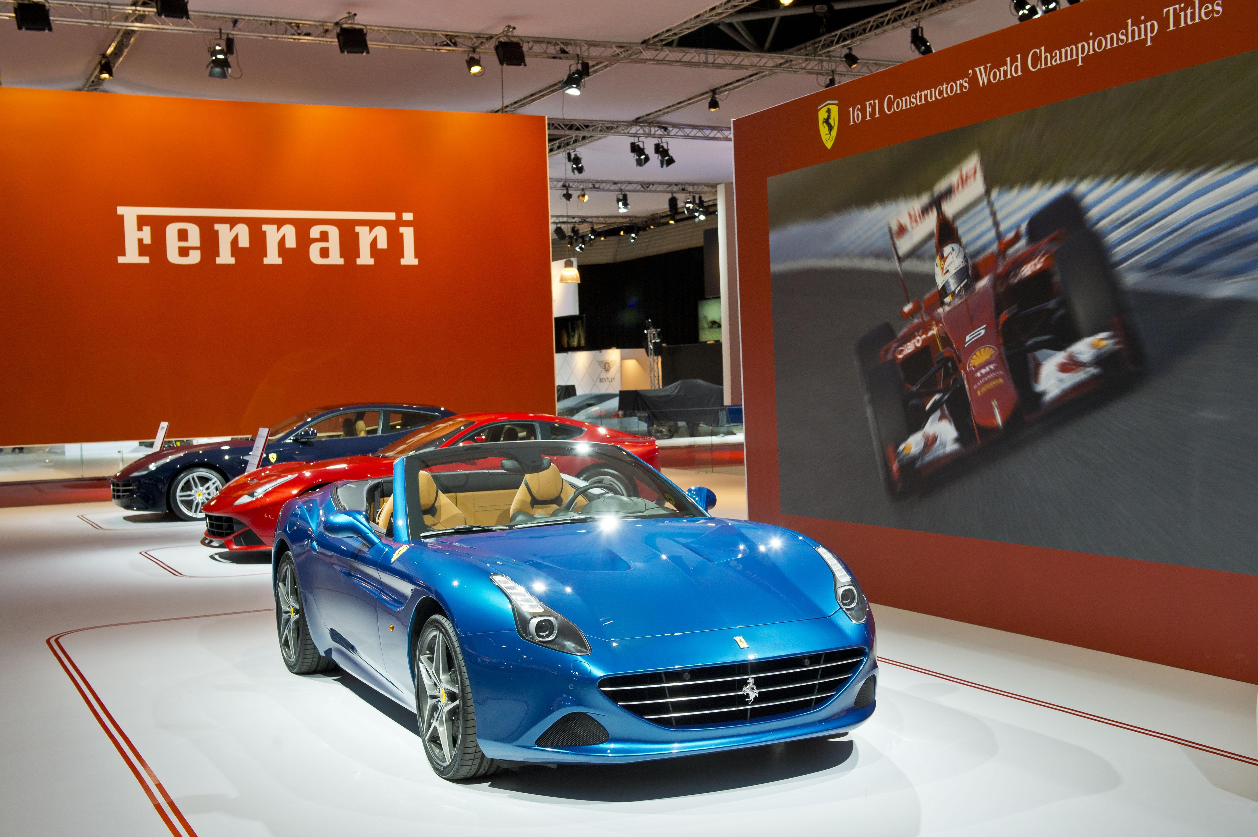 La Ferrari al Salone di Amsterdam